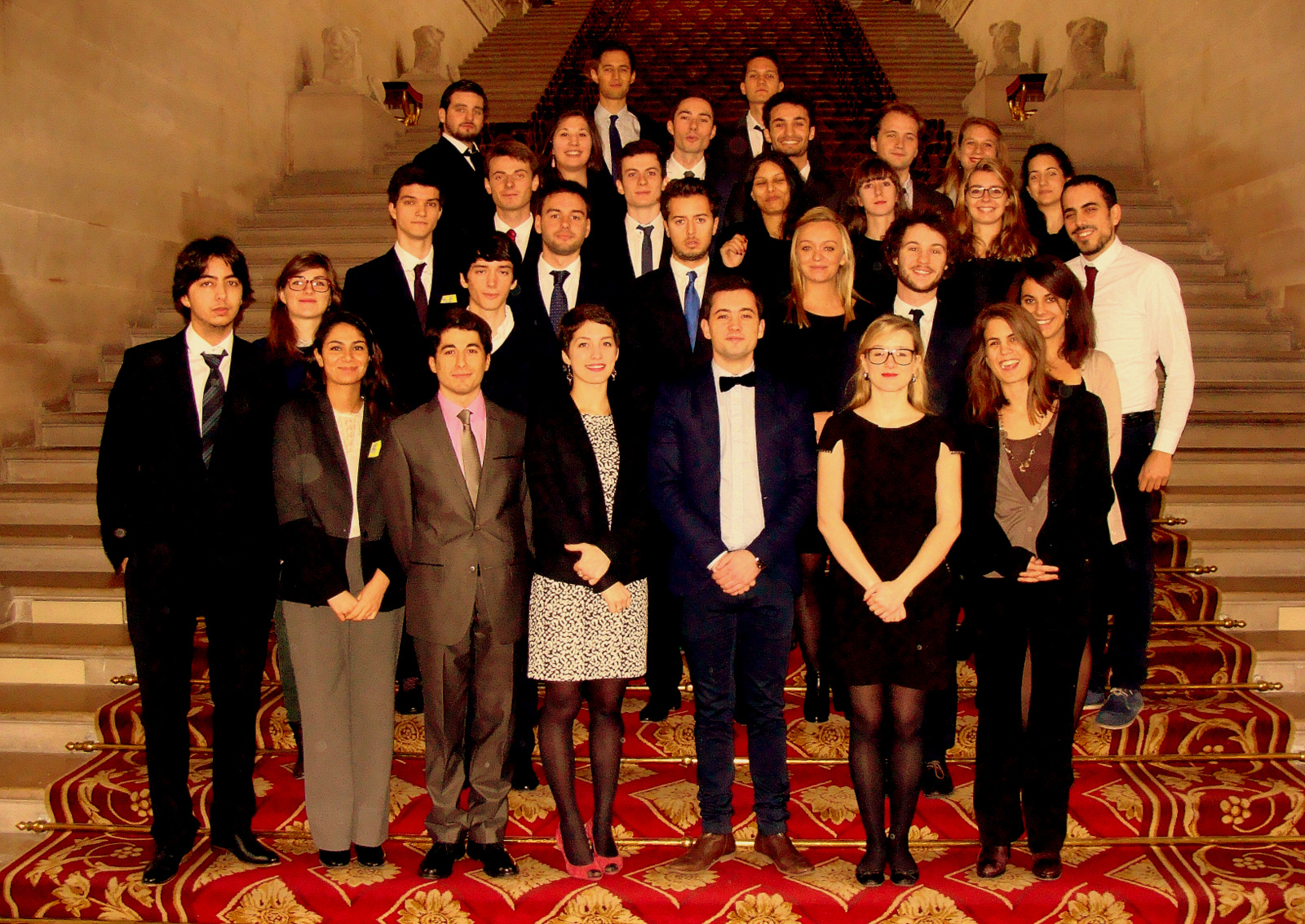 Photographie Master DPA - escalier d'honneur (2)