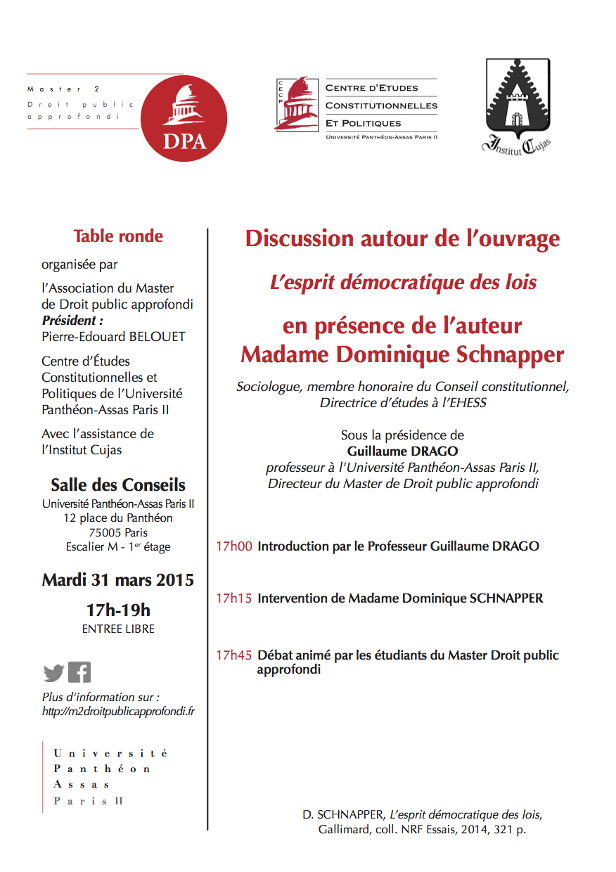 Table ronde 31 mars
